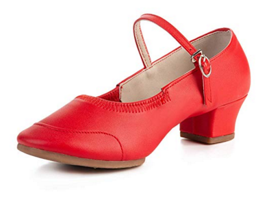 red swing shoes
