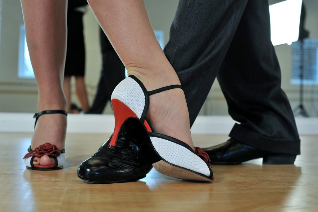 ballroom dancing shoes