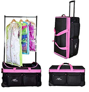 dance bag with rack