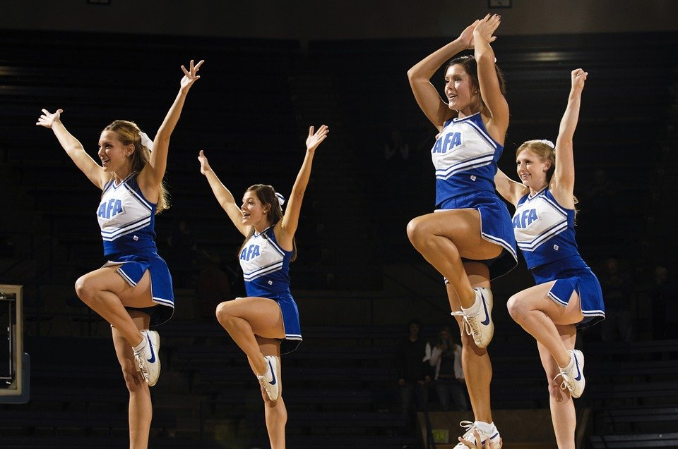 cheer stunt for home
